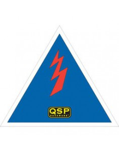 QSP hoofdstroom sticker