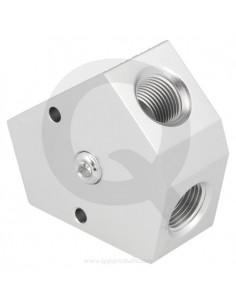 QSP aluminium gesmeed Y...
