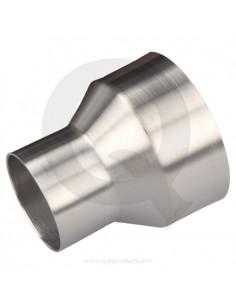 QSP aluminium verloop recht...