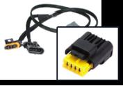 4 Pin Y-kabels