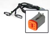 6 Pin Y-kabels