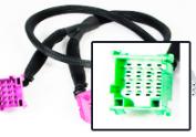 15 Pin Y-kabels